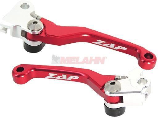 ZAP Flex-Kupplungs-/Bremshebel-Set RMZ 250/450 05-, rot