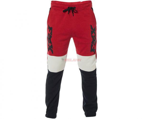 FOX Hose: Lateral, rot/schwarz