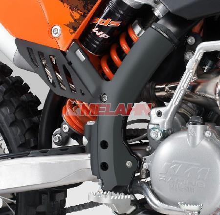 KTM Rahmenschützer (Paar) SX 07-10 / SMR/EXC 08-11, schwarz