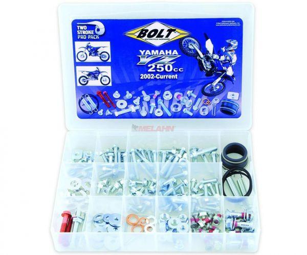 BOLT Schraubenset Pro Pack inklusive Auspuffteile, YZ 250 02-