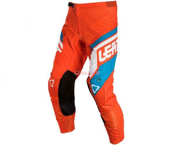LEATT Hose: GPX 4.5, orange/blau