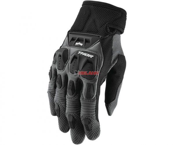 THOR Handschuh: Terrain, grau/schwarz