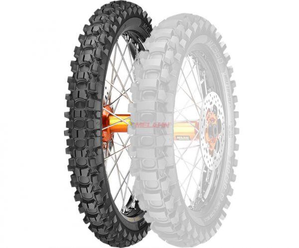 METZELER Reifen: MC 360 Mid Hard 90/90-21 (mit Straßenzulassung)