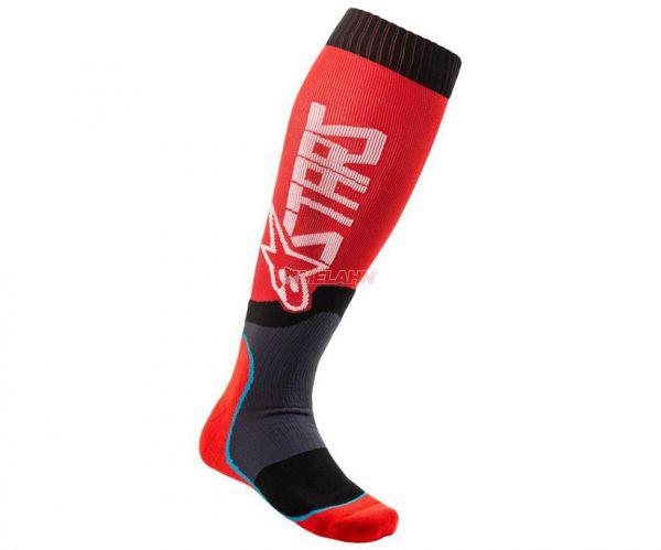 ALPINESTARS Socke (Paar): MX Plus-2, rot