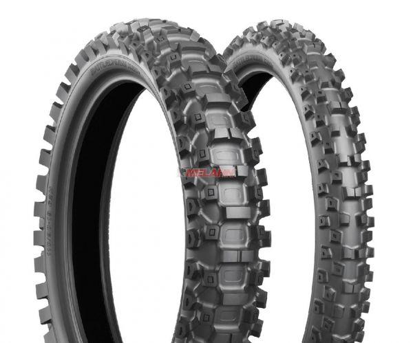 BRIDGESTONE Reifen: X20 110/100-18