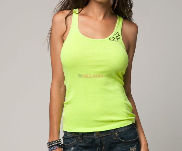 FOX Girls Tank-Top: Miss Clean, gelb