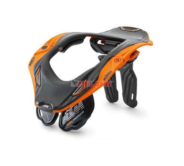 KTM Kids Neck Brace: GPX 5.5, schwarz/orange