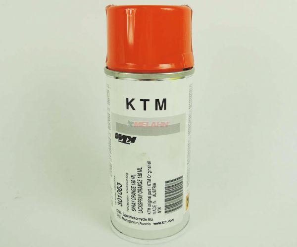 KTM Lackspray orange, 150ml