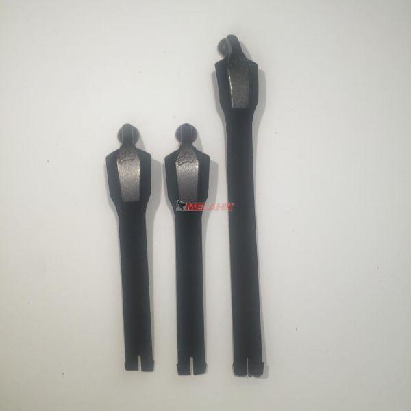 FOX Laschen-Kit: Comp 8, 3 Stück, schwarz