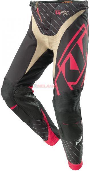 KTM Girls Hose: Gravity-FX, schwarz/pink