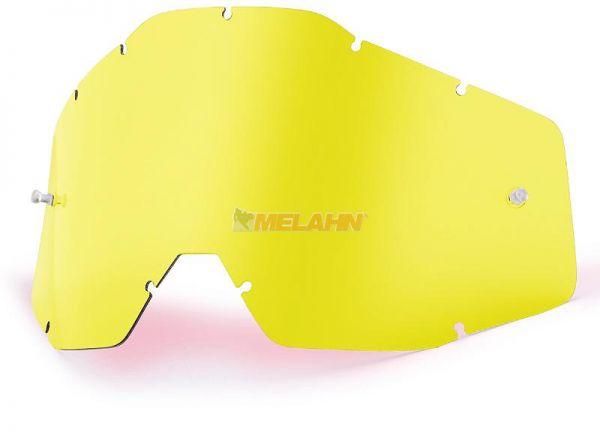 100% Ersatzglas, gelb