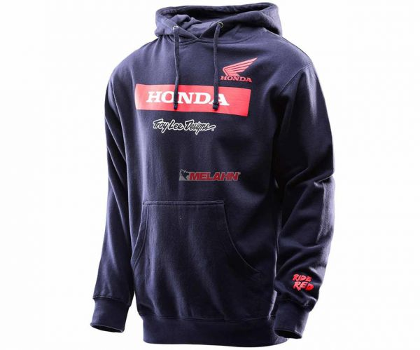 TROY LEE DESIGNS Honda Wing Block Pullover, navy
