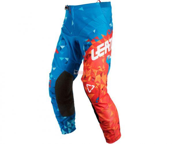 LEATT Hose: GPX 4.5, blau/rot