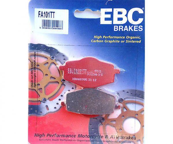 EBC Bremsklötze FA101 Semi-Metall hinten, YAMAHA DT 50R 89-97, DT 80 LC II 85-97, DT 125 R 91-92
