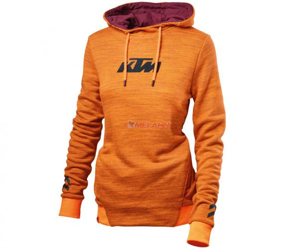 KTM Girls Hoodie: Pure, orange