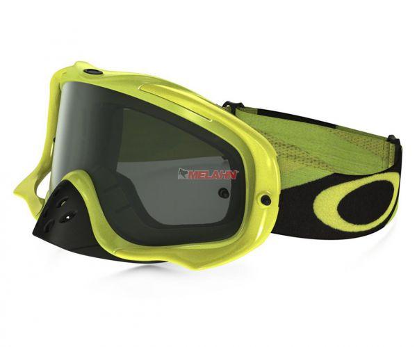 OAKLEY Brille: Crowbar Heritage Racer, neon-gelb, dark-grey