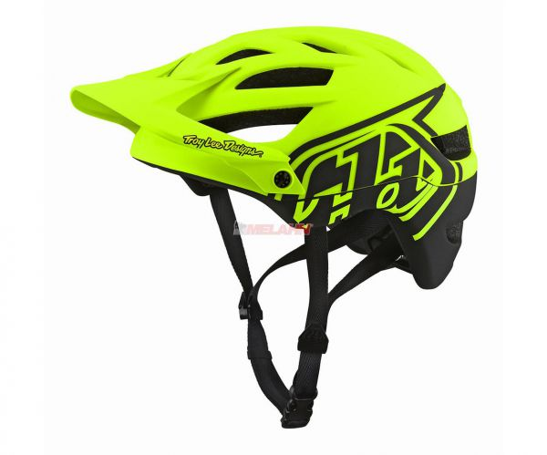 TROY LEE DESIGNS MTB-Helm: A1 Classic, flow yellow