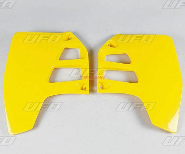 UFO Spoiler (Paar) RM 125/250 '89-'92, gelb