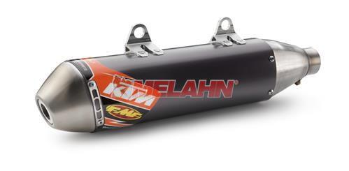 KTM FMF Slip-On Enddämpfer SX-F 07-15 / EXC-F 08-16, schwarz