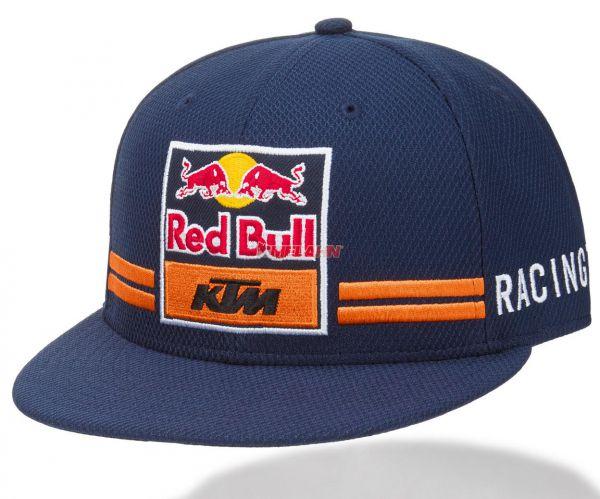 KTM RED BULL Cap: Team Flat, blau/orange