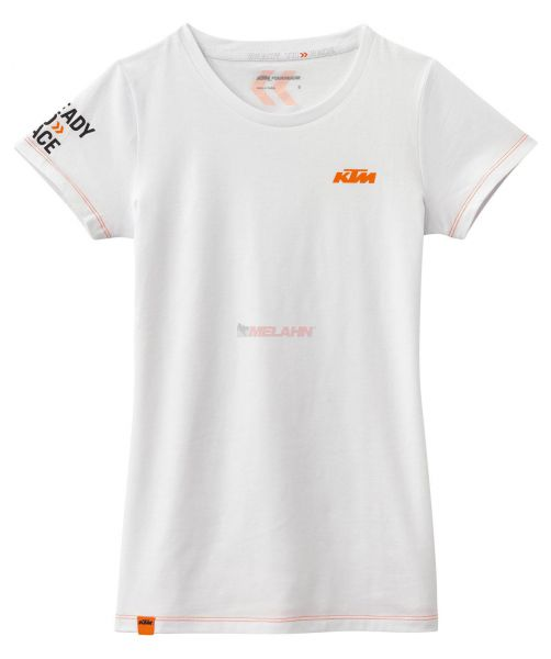 KTM Girls T-Shirt: Classic, weiß