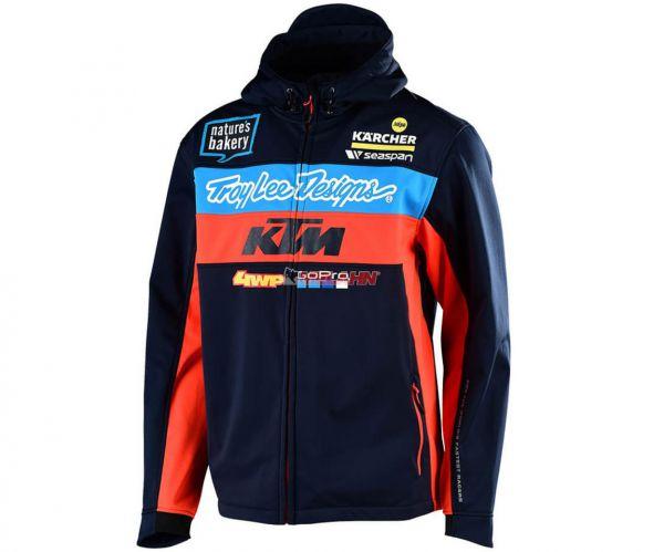 TROY LEE DESIGNS Pit Jacke: KTM Team, navy/orange