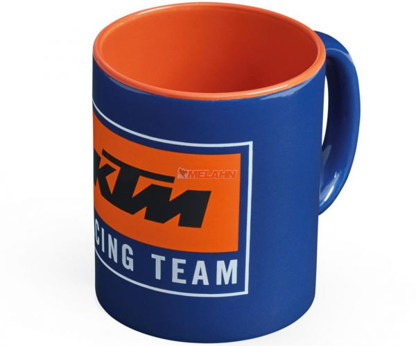 KTM Tasse: Team Mug, blau/orange