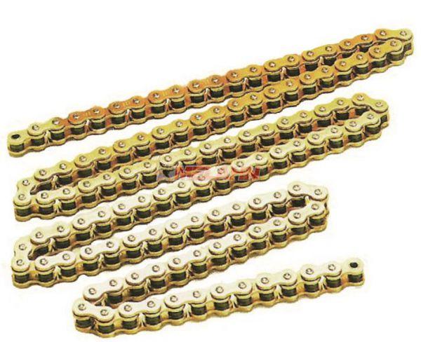 AFAM Kette 520 MX Professional, 118 Glieder, gold