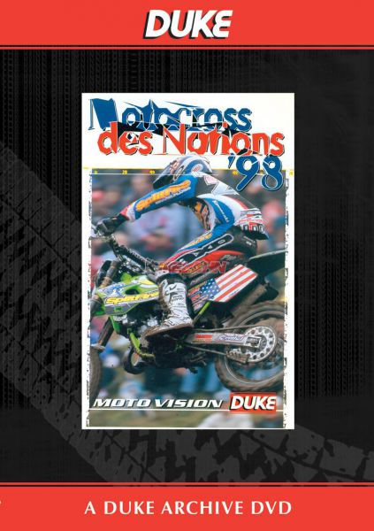 DVD: MX des Nations 1998 Foxhill/GB