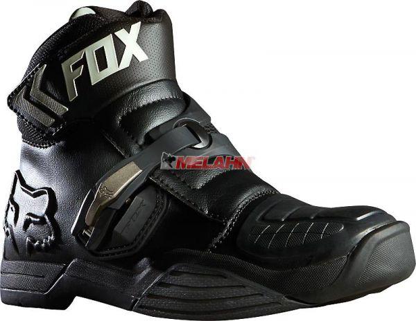 FOX Stiefel: Bomber, schwarz