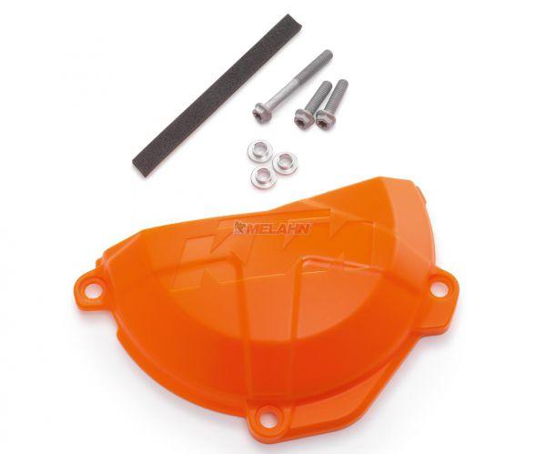 KTM Plastik-Kupplungsdeckelschutz 250/350 EXC-F 17, orange