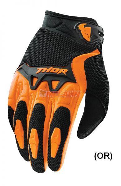 THOR Kids Handschuh: Spectrum , orange