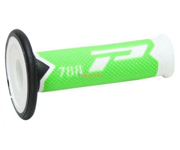 PROGRIP Griff (Paar): 788 Slim, neon-grün