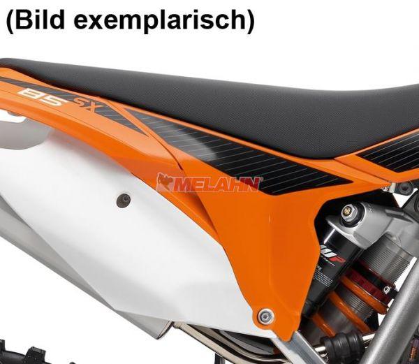 KTM Filterkastendeckel links mit Dekor, 85 SX 2014