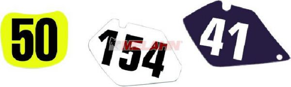 FX Startnummernuntergrund KX 60 85-04, schwarz
