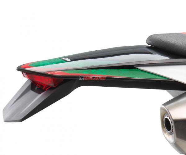 KTM Kotflügel hinten mit Dekor schwarz, EXC 2020 SIX DAYS