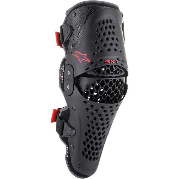 ALPINESTARS Knieprotektor (Paar): SX-1 V2, black/red