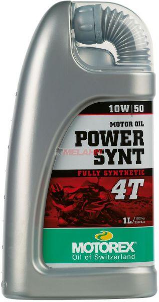 MOTOREX Power Synth 4T 1l, 10W-50 vollsynthetisch