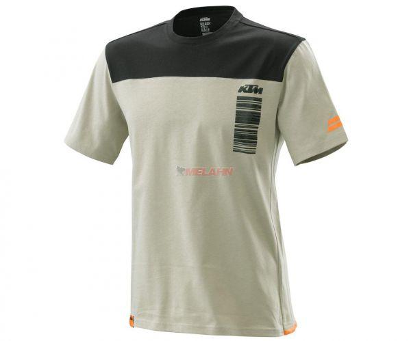 KTM T-Shirt: Pure Style, grau
