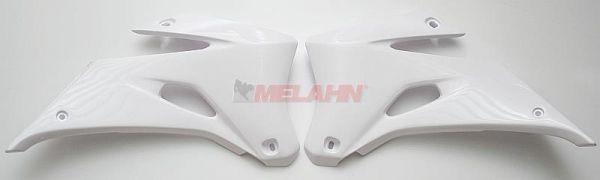 UFO Spoiler (Paar) Kühlerverkleidung WR 250 07-14 / 450 07-11, weiß