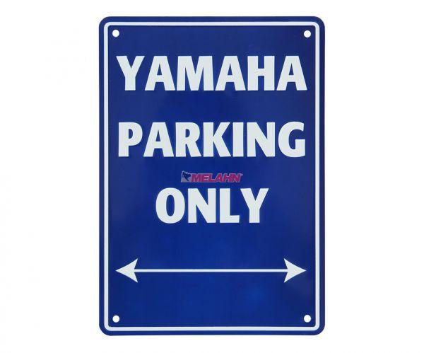 MT Metallschild: Yamaha Parking Only