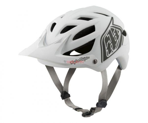 TROY LEE DESIGNS MTB-Helm: A1 Classic, weiß
