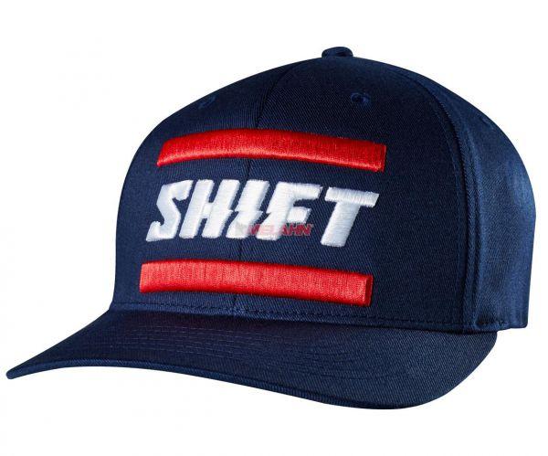 SHIFT Flex-Fit Cap: 3Lack Label, navy