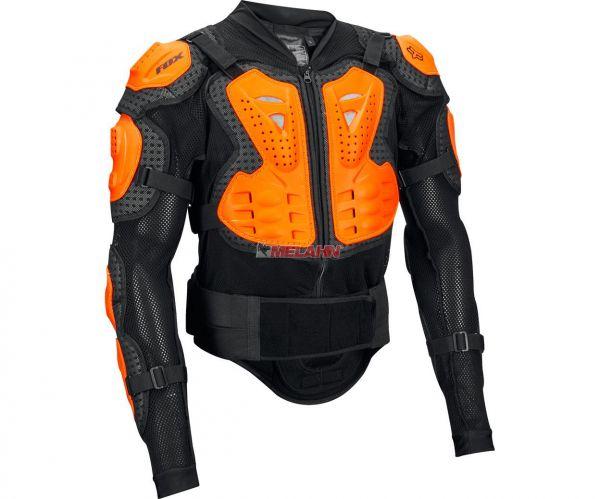 FOX Protektorenjacke: Titan Sport, schwarz/orange