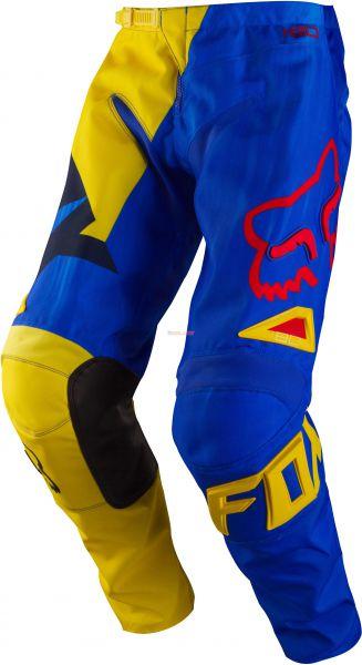 FOX Hose: 180 Vandal, gelb/blau