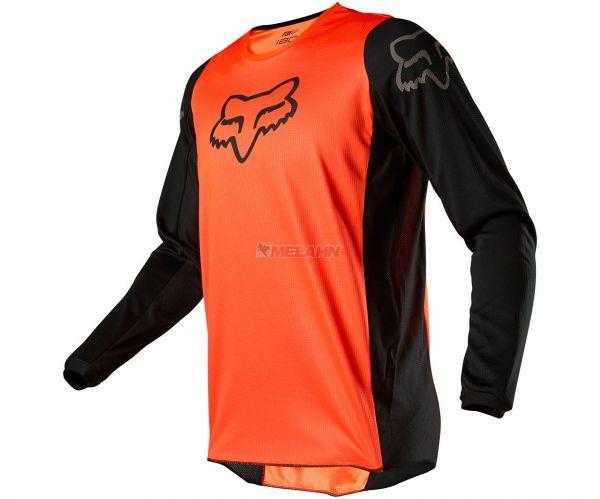 FOX YOUTH Jersey: 180 Prix, orange/schwarz