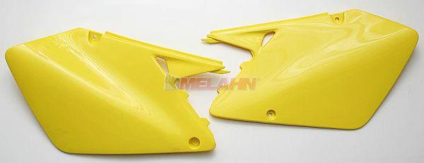 UFO Seitenteile (Paar) RM 125/250 01-02, gelb2001