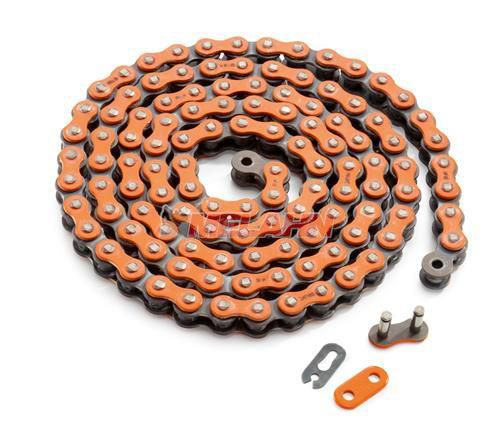 KTM Kette 520 MX Pro 118 Glieder, orange