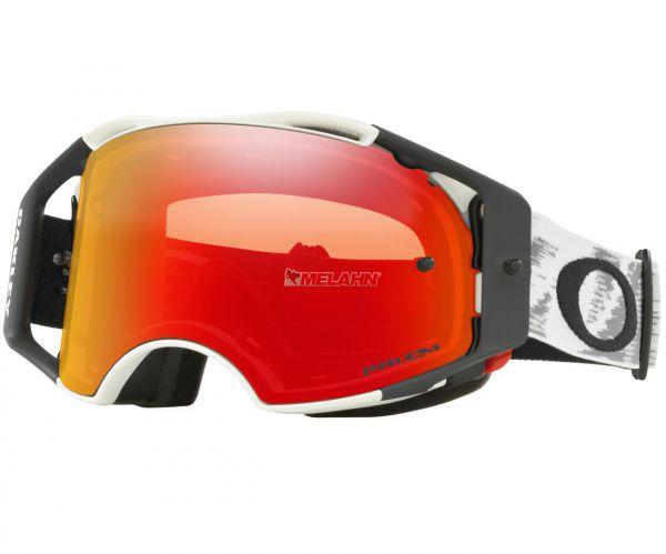 OAKLEY Brille: Airbrake Prizm MX Speed, matt-weiß/torch-iridium