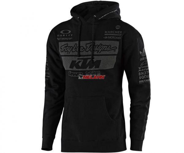 TROY LEE DESIGNS Hoody: KTM Team, schwarz